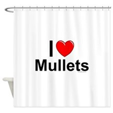 Mullets Shower Curtain