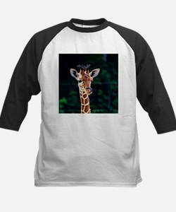 Sweet young Giraffe Baseball Jersey