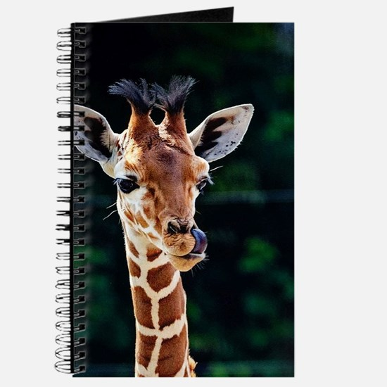 Sweet young Giraffe Journal