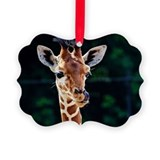 Giraffe Picture Frame Ornaments