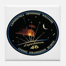 Expedition 48 Tile Coaster