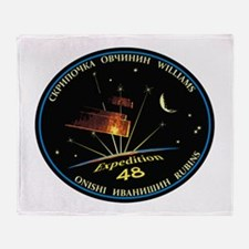 Expedition 48 Throw Blanket