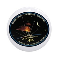 Expedition 48 Round Ornament