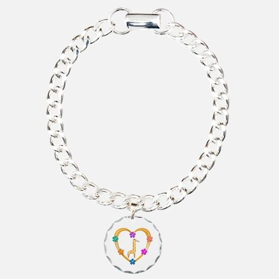 Giraffe Heart Bracelet