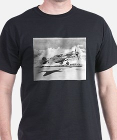 Cute Airplane drawing T-Shirt