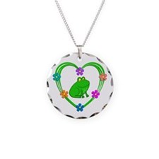 Frog Heart Necklace