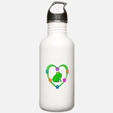 Frog Heart Water Bottle