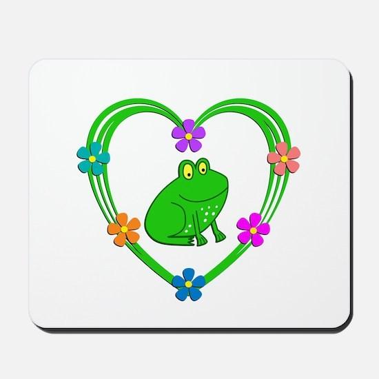 Frog Heart Mousepad