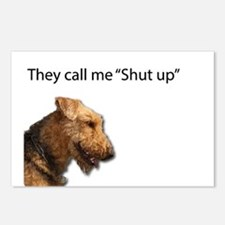 I think my name is Shut U Postcards (Package of 8)