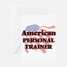 American Personal Trainer Greeting Cards
