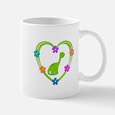 Dinosaur Heart Mug