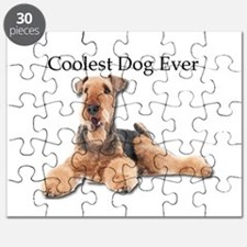 The Airedale Terrier is the Coolest Dog Eve Puzzle