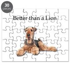 Airedales are much better than Lions Puzzle