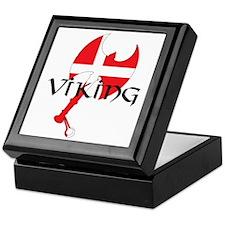 Denmark Viking Axe Keepsake Box