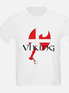 Denmark Viking Axe T-Shirt