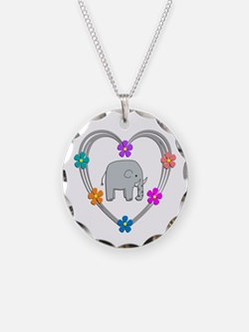Elephant Heart Necklace