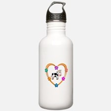 Cow Heart Water Bottle