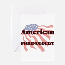 American Phrenologist Greeting Cards