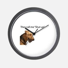 I think my name is Shut Up Wall Clock