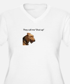 I think my name is Shut Up Plus Size T-Shirt