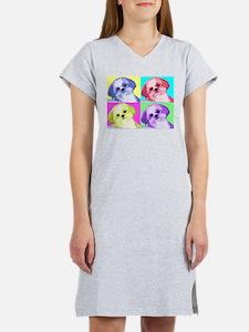 Cute Shitzu Women's Nightshirt