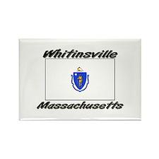 Whitinsville Massachusetts Rectangle Magnet