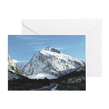 Unique Fiordland national park Greeting Card