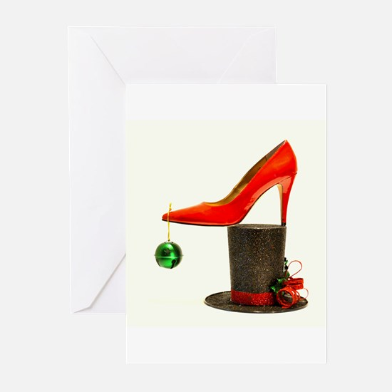 Unique High heel Greeting Cards (Pk of 20)