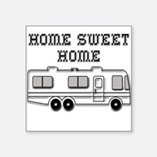 "Cute Trailer Square Sticker 3"" x 3"""