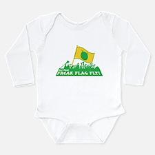 Cute Inspired Long Sleeve Infant Bodysuit