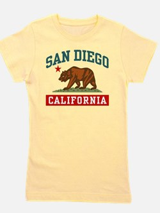 Cute Made in california Girl's Tee