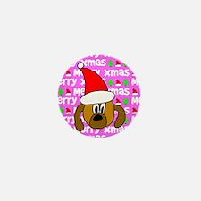 Christmas Dog Mini Button