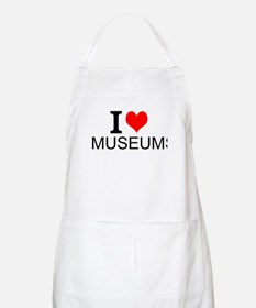 I Love Museums Apron