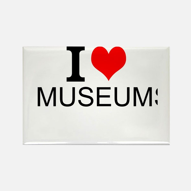 I Love Museums Magnets