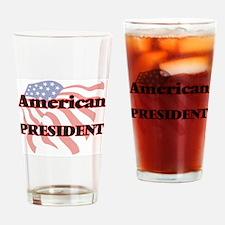 American President Drinking Glass