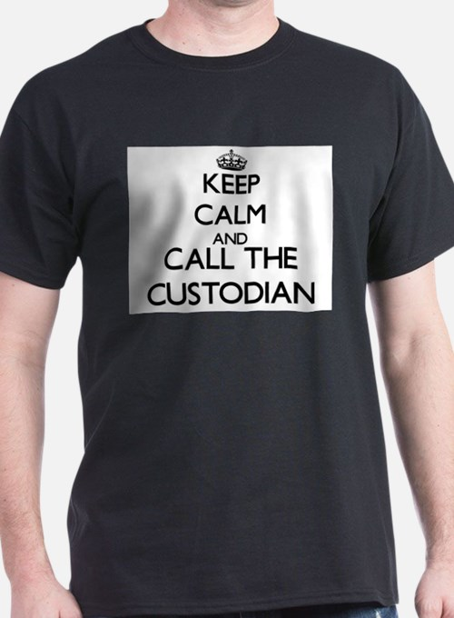 Cute Custodian T-Shirt