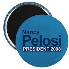 """NANCY PELOSI PRESIDENT 2008 2.25"""" Magnet (100 pack"""