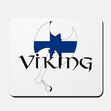 Finnish Viking Axe Mousepad