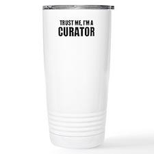 Trust Me, I'm A Curator Travel Mug