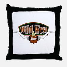 Wild West Show Throw Pillow