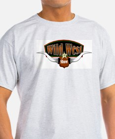 Wild West Show Ash Grey T-Shirt