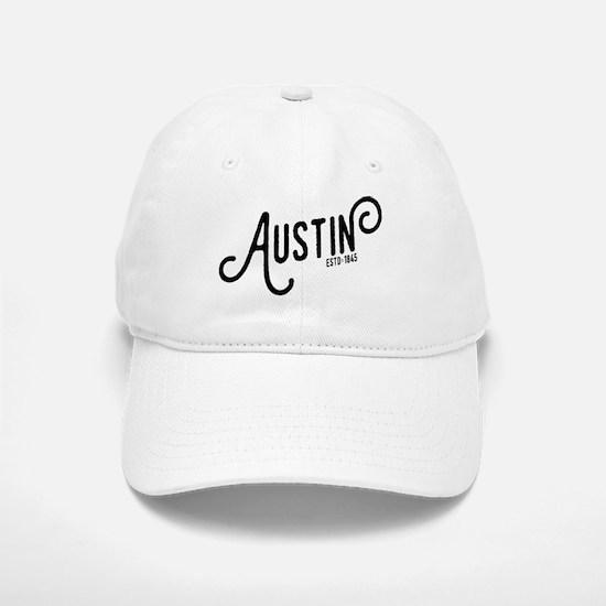 Austin Texas Baseball Baseball Cap