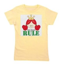 Girls rule Girl's Tee