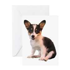 Welsh Corgi Puppy Greeting Card