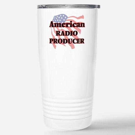 American Radio Producer Stainless Steel Travel Mug