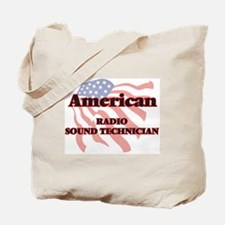 American Radio Sound Technician Tote Bag