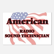American Radio Sound Tech Postcards (Package of 8)