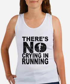 There's No Crying In Running Tank Top