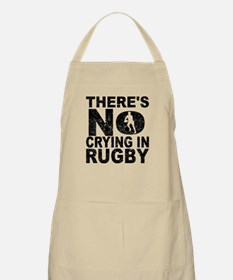 There's No Crying In Rugby Apron