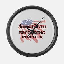 American Recording Engineer Large Wall Clock